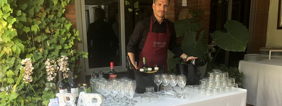 camareros catering